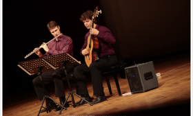 AirString Duo's Union Hall Concert